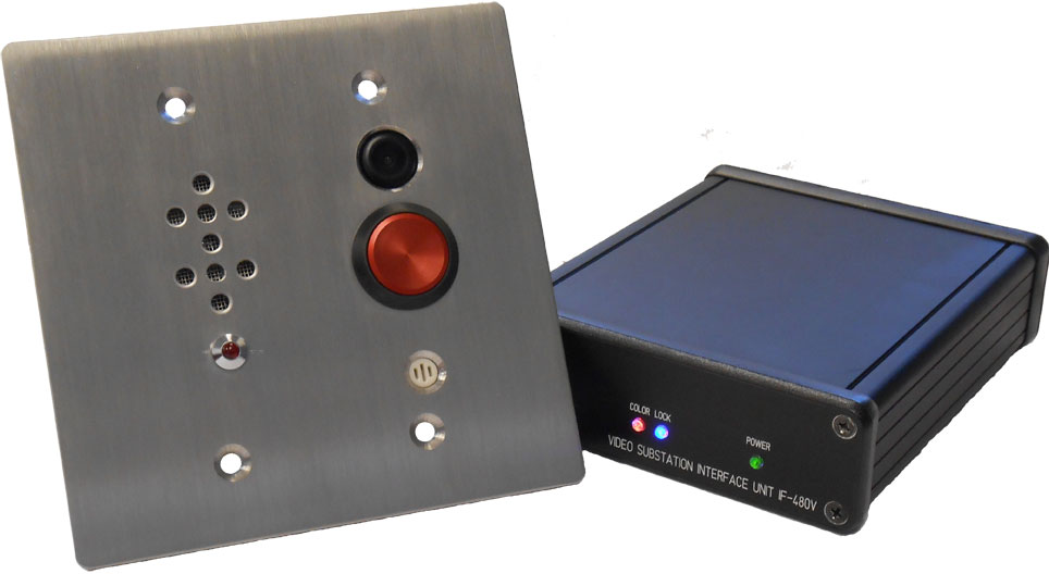 RS-480VSET AM  Video Intercom System