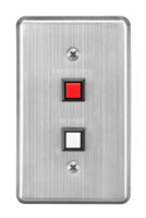 Dual call button panel switch